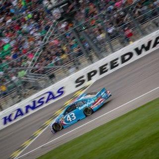 Aric Almirola Kansas Speedway Crash