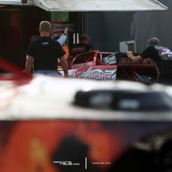 Bobby Pierce Backup car DIRTcar Summer Nationals 2565