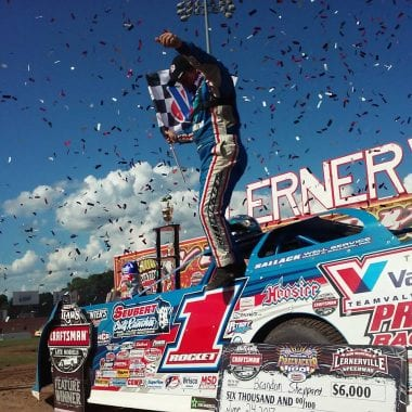 Brandon Sheppard wins at Lernerville Speedway