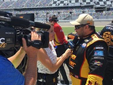 Brendan Gaughan NASCAR Fights