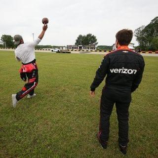 Brett Hundley Football and INDYCAR