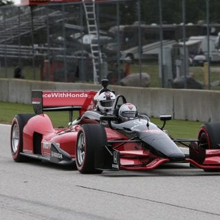 Brett Hundley INDYCAR Photo