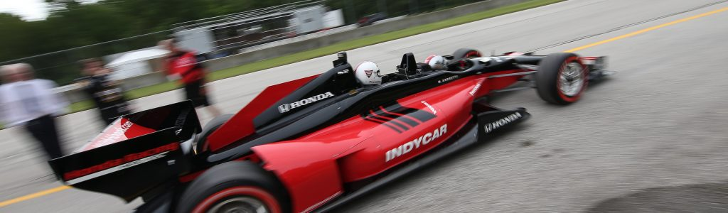 Green Bay Packers quarterback INDYCAR Ride at Road America