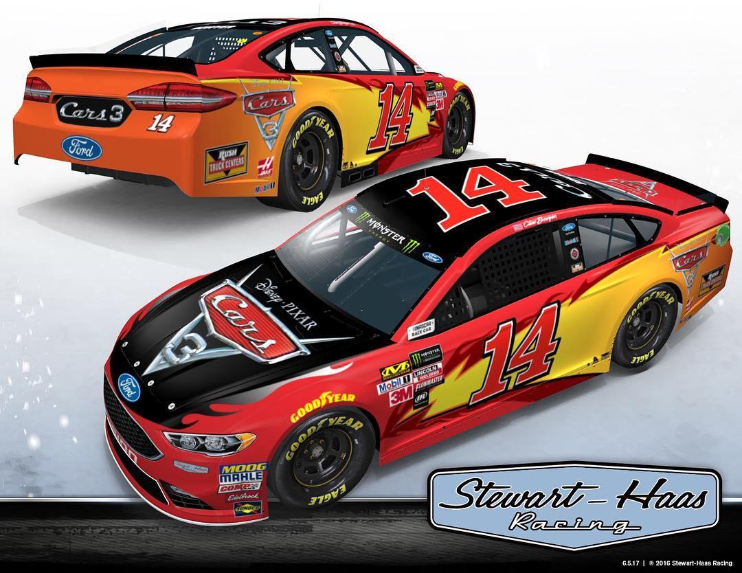 Clint Bowyer Cars 3 NASCAR Cup Series Racecar