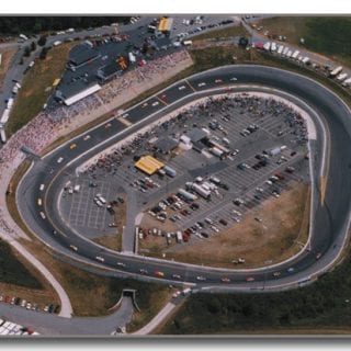 Concord Motor Speedway 1:2 Mile Tri-Oval Track