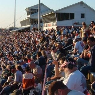 Concord Motor Speedway Grandstands