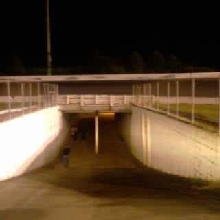 Concord Motor Speedway Tunnel