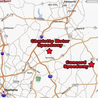 Concord Speedway - Charlotte Motor Speedway