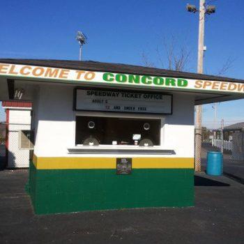 Concord Speedway Ticket Window