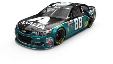 Dale Earnhardt Jr Philadelphia Eagles Paint Scheme