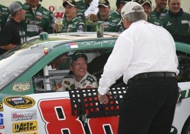 Dale Eanrhardt Jr's first win for Rick Hendrick