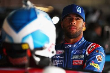 Darrell Wallace Jr driving for Richard Petty Motorsports - NASCAR Cup Debut