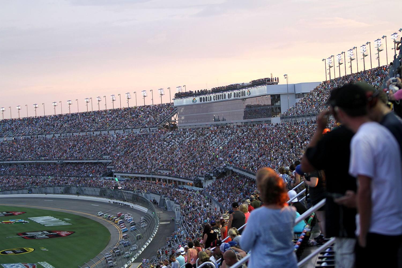 Daytona Bomb Threat 2017 - Daytona International Speedway
