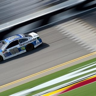 Daytona Polesitter Dale Earnhardt Jr talks about his car
