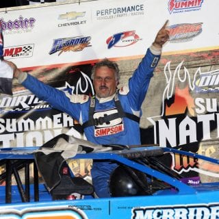 Dennis Erb Jr wins DIRTcar Summer Nationals 3046