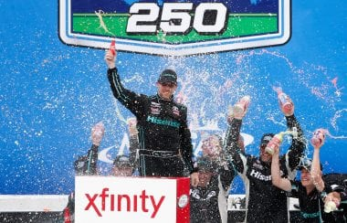 Denny Hamlin Victory Lane Spray