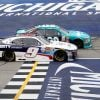 Denny Hamlin William Byron Photo Finish