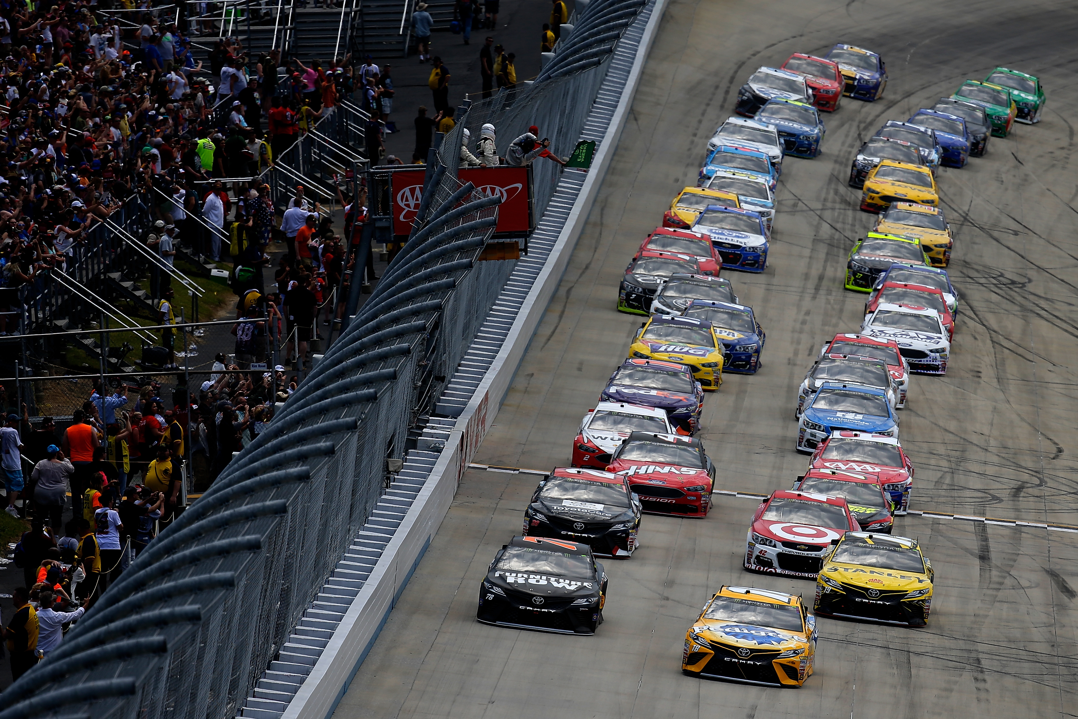 Dover International Speedway results from the Monster Energy NASCAR Cup Series on June 4, 2017