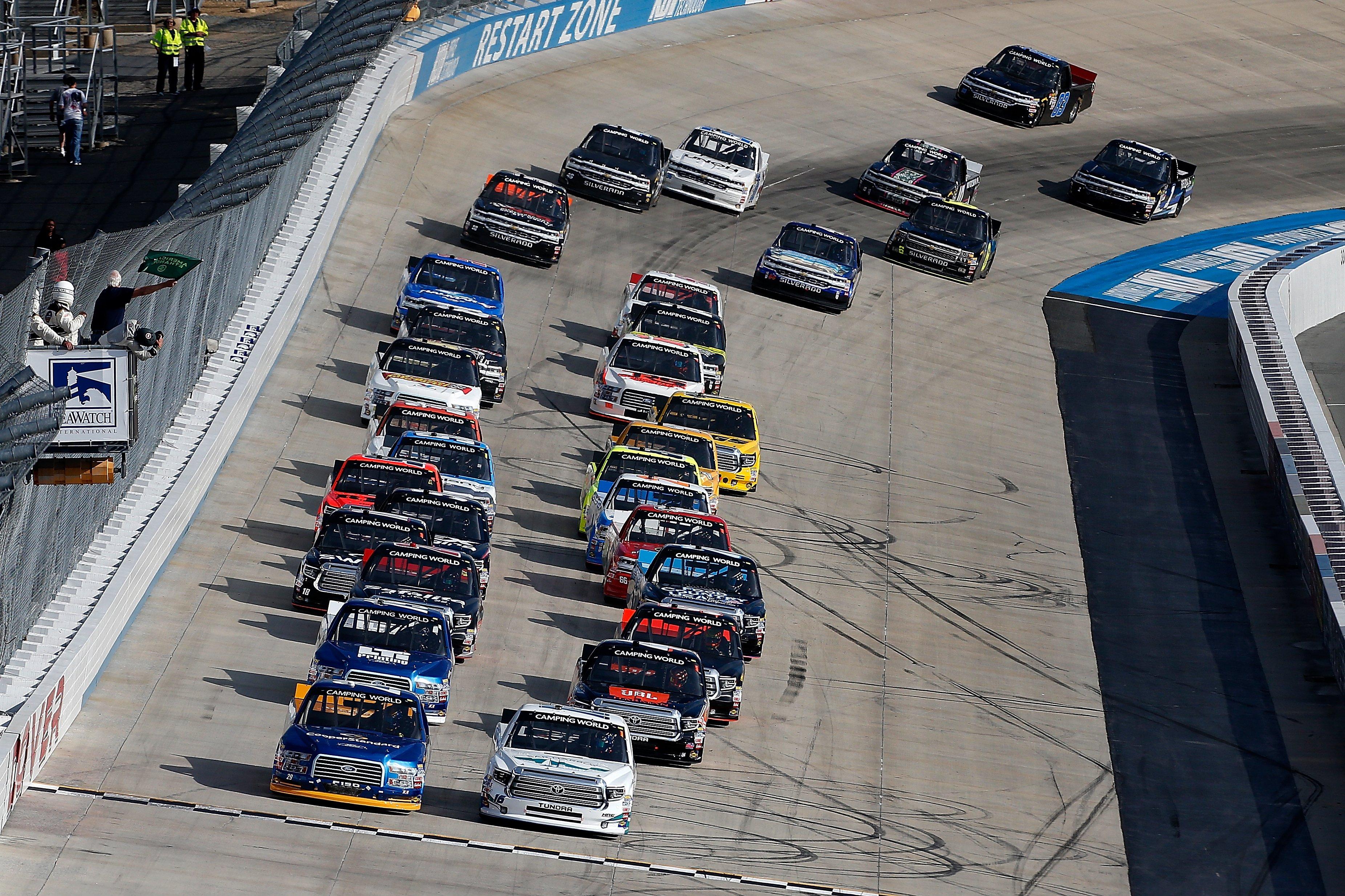 Dover Results - NASCAR Truck Series - June 2, 2017