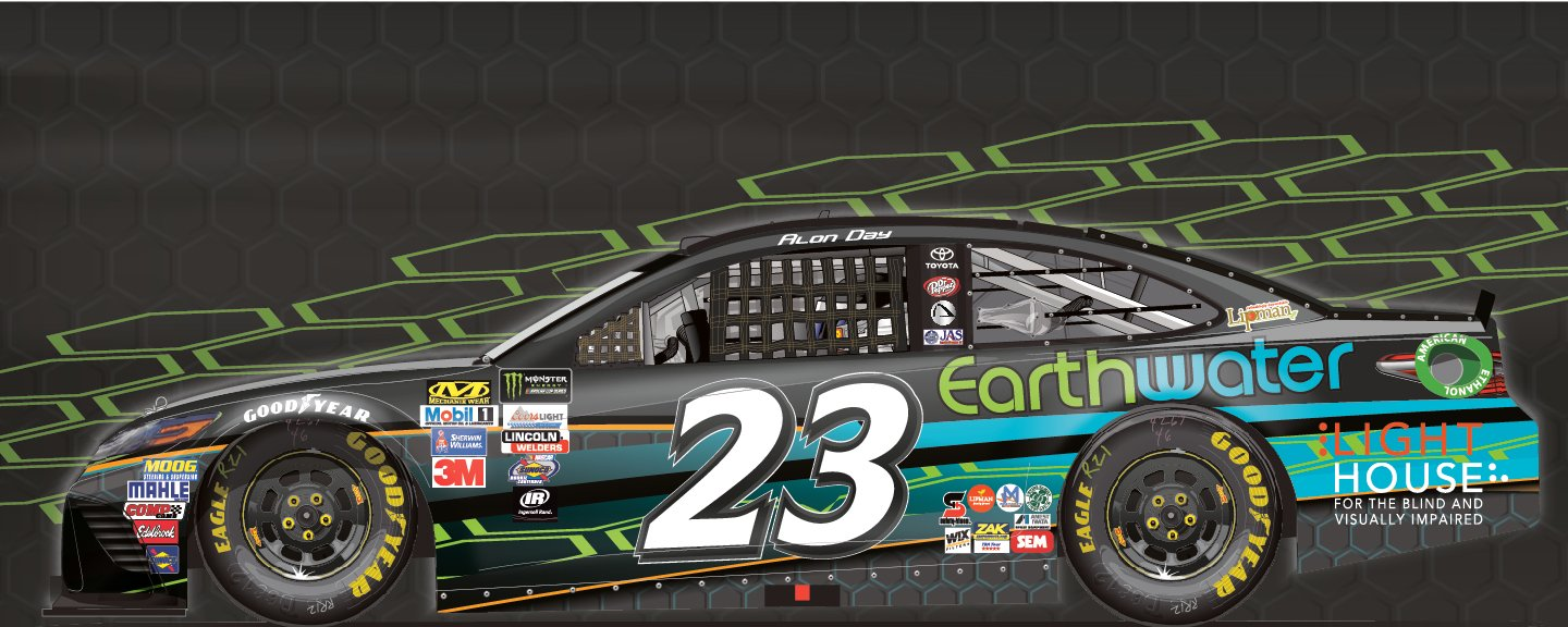 Earthwater Monster Energy NASCAR Cup Series Alon Day