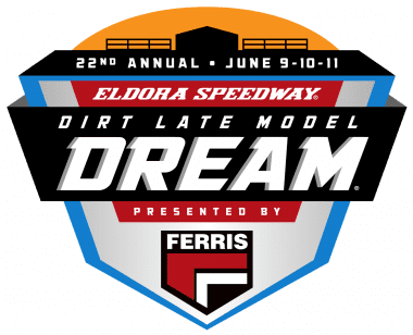 Eldora Speedway Dirt Late Model Dream Logo 2017