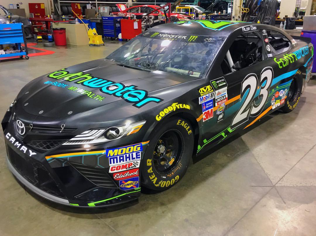 Israeli, Alon Day is set to make NASCAR debut in on the best looking racecars ever
