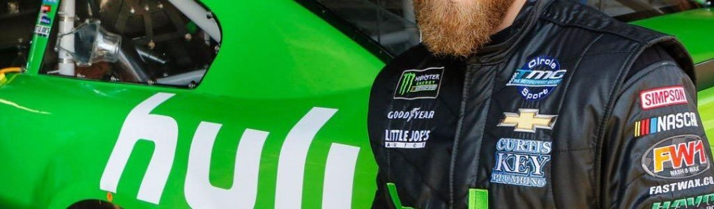 Jeffrey Earnhardt Hulu NASCAR Racecar Debuts at Dover