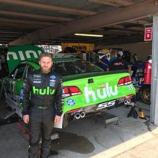 Jeffrey Earnhardt Hulu Racecar
