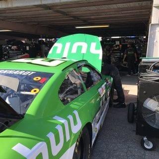 Jeffrey Earnhardt Hulu car - Monster Energy NASCAR Cup Series