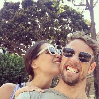 Jenson Button's Girlfriend 2017 - Brittny Ward