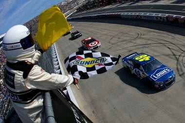 Jimmie Johnson Wins - Dover NASCAR Results Sheet