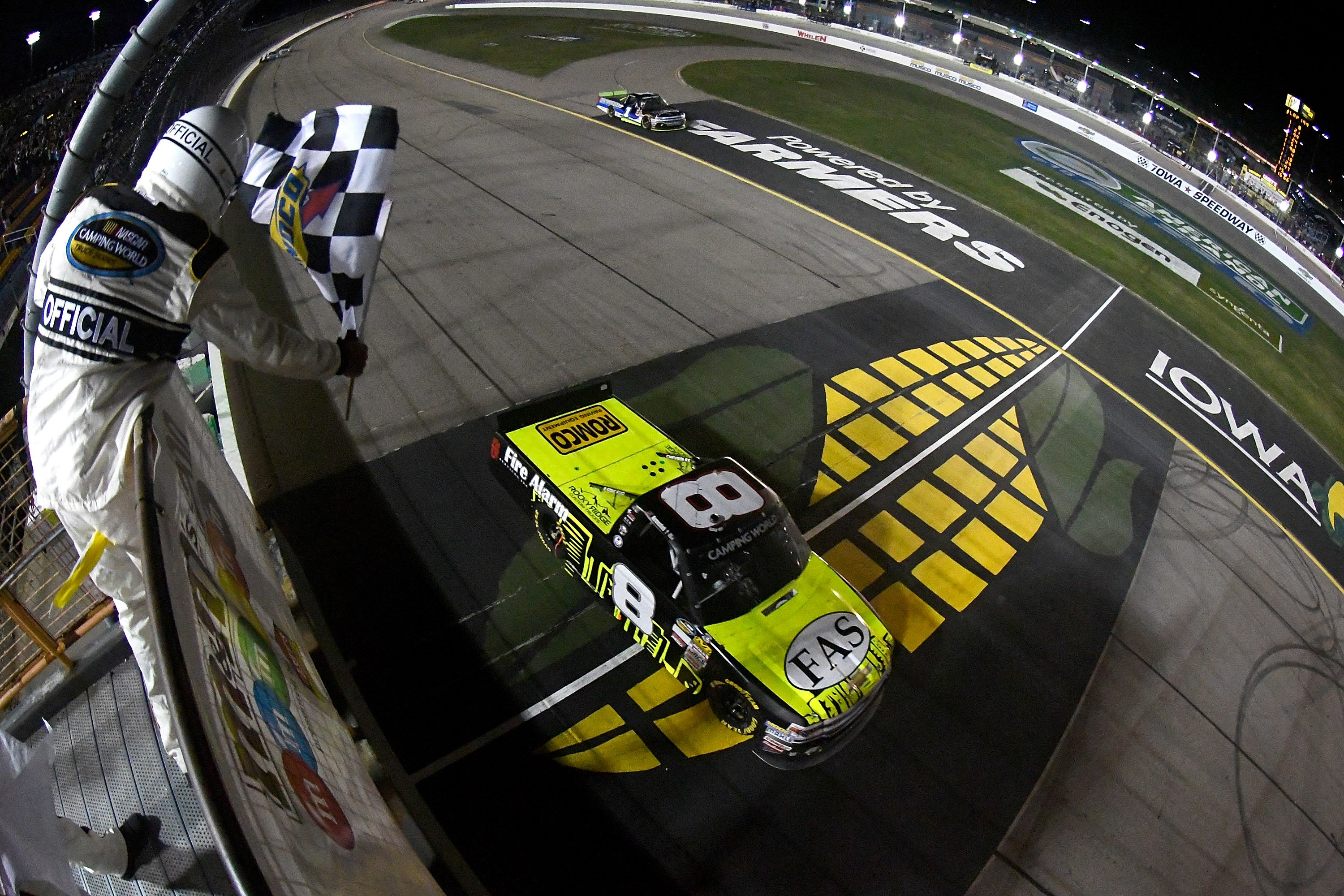 John Hunter Nemechek Iowa Speedway Truck Results - NCWTS