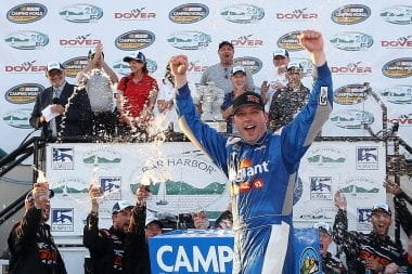 Johnny Sauter Dover International Speedway Win in NASCAR Truck Series