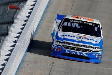 Johnny Sauter wins at Dover International Speedway