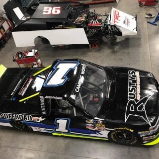Kenny Wallace and Jordan Anderson Share Space at Kenny Wllace Racing in Arnold, MO