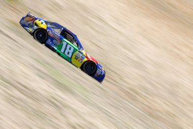 Kyle Busch Lug Nut Inspection Sonoma Raceway