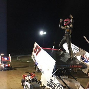Kyle Larson Wayne County Speedway ASCOC