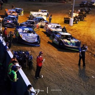Lucas Oil Late Model Dirt Series Staging 1612