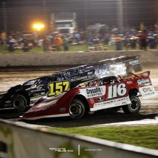 Magnolia Motor Speedway 4 Wide Racing Photo 2103
