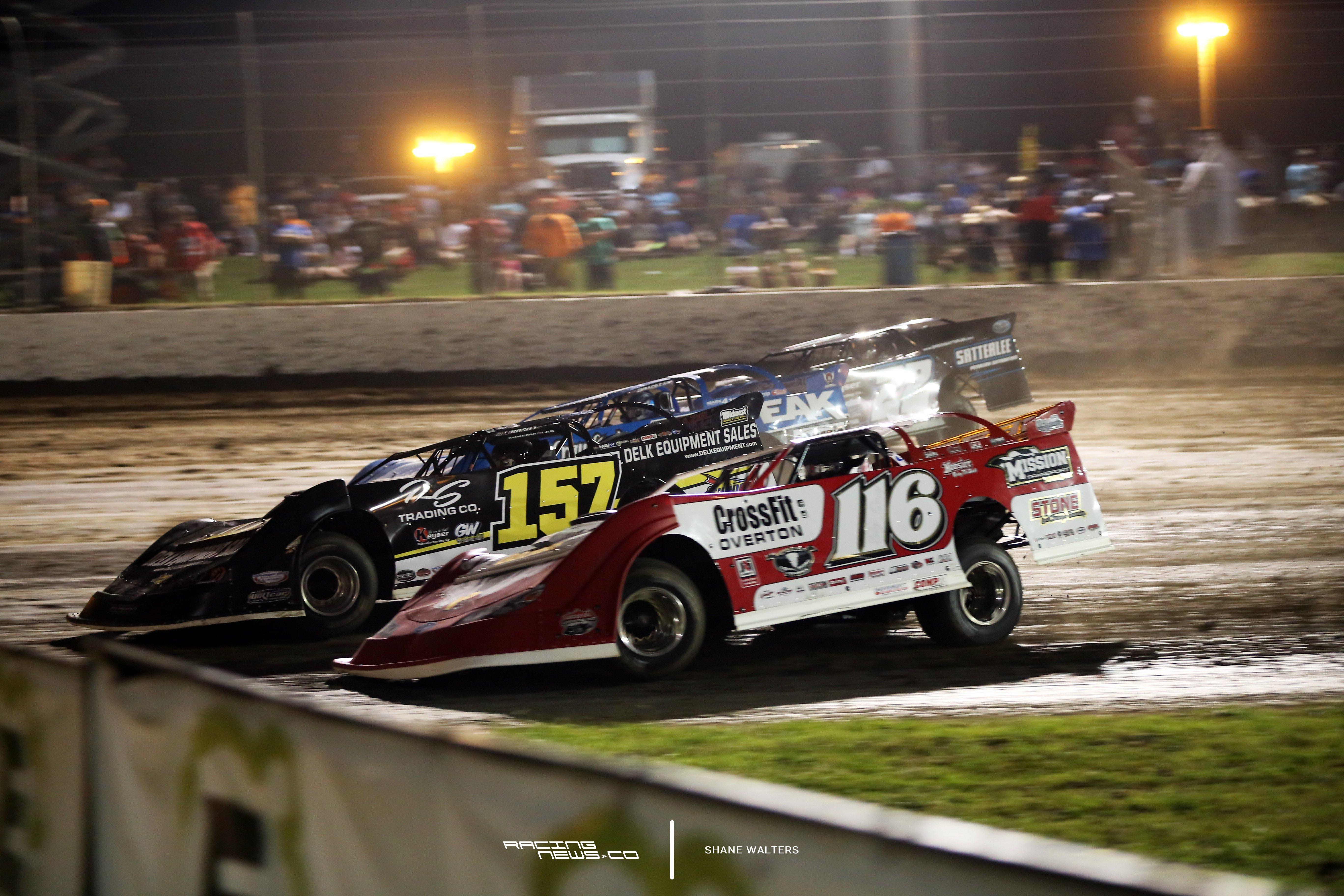 Magnolia Motor Speedway 4 Wide Racing Photo 2103