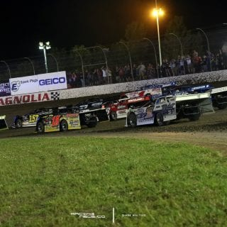 Magnolia Motor Speedway 4 Wide Salute 2071