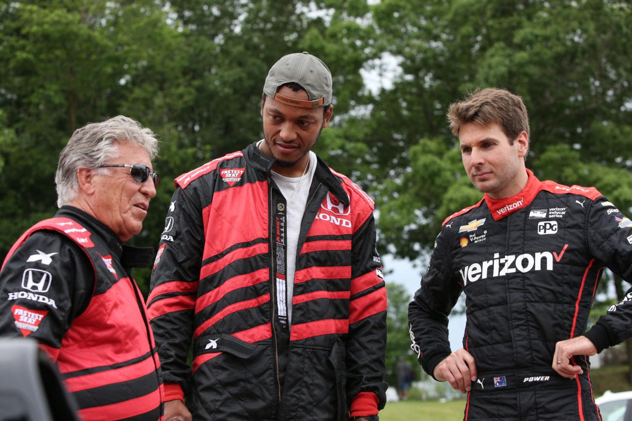 Mario Andretti - Brett Hundley - Will Power