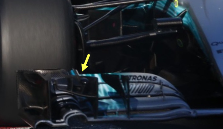 Mercedes AMG Petronas Upgrades