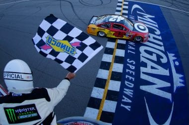 Michigan International Speedway Derbis Cautions