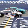 Michigan NASCAR Penalties - Denny Hamlin Win Encumbered