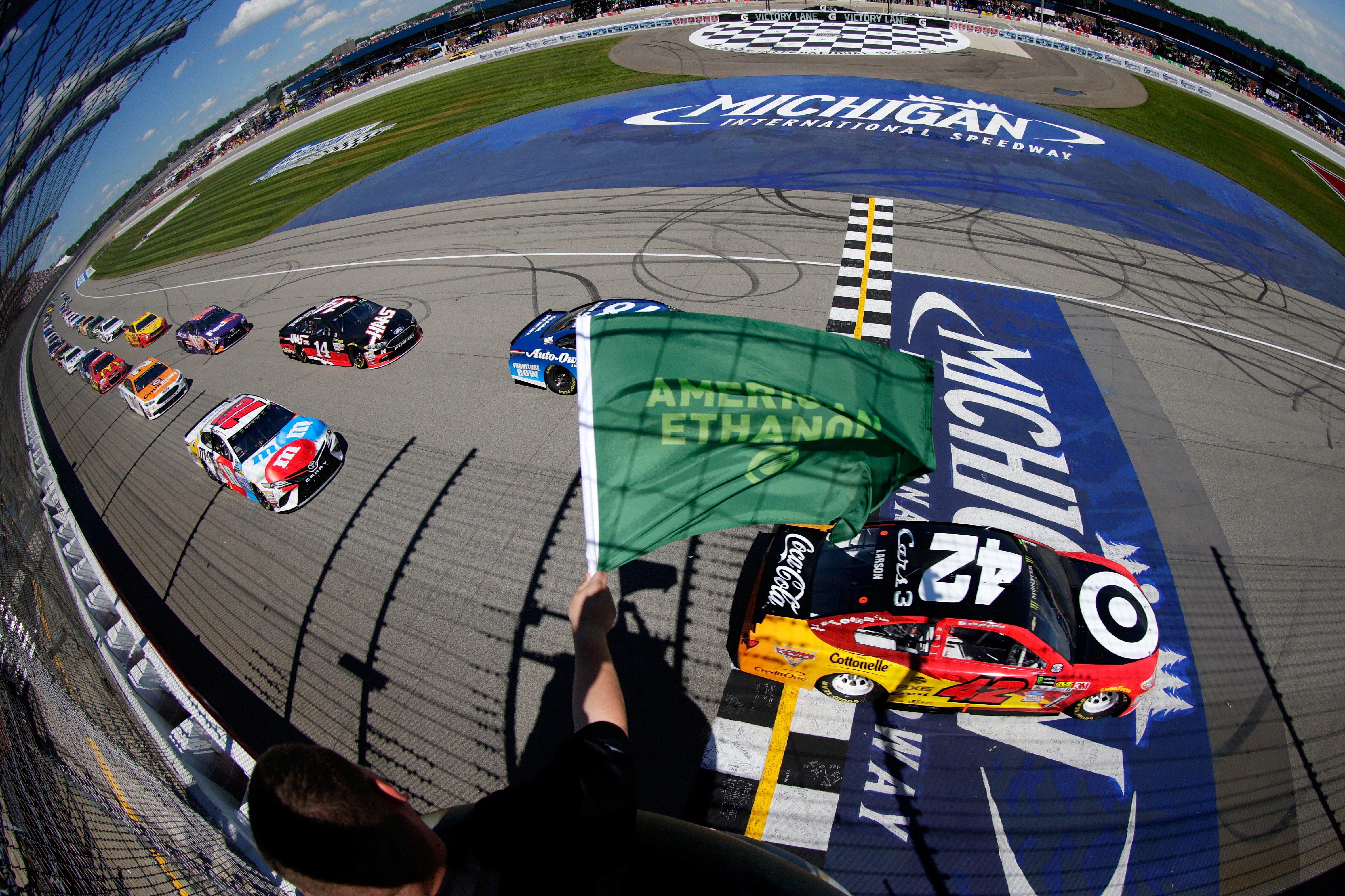 Michigan Results - June 17, 2017 - NASCAR Cup Series
