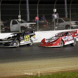 Mike Marlar and Brandon Overton at Magnolia Motor Speedway 2270