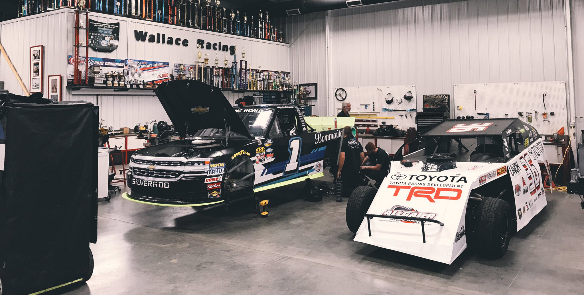 NASCAR Truck and Dirt Modified 2
