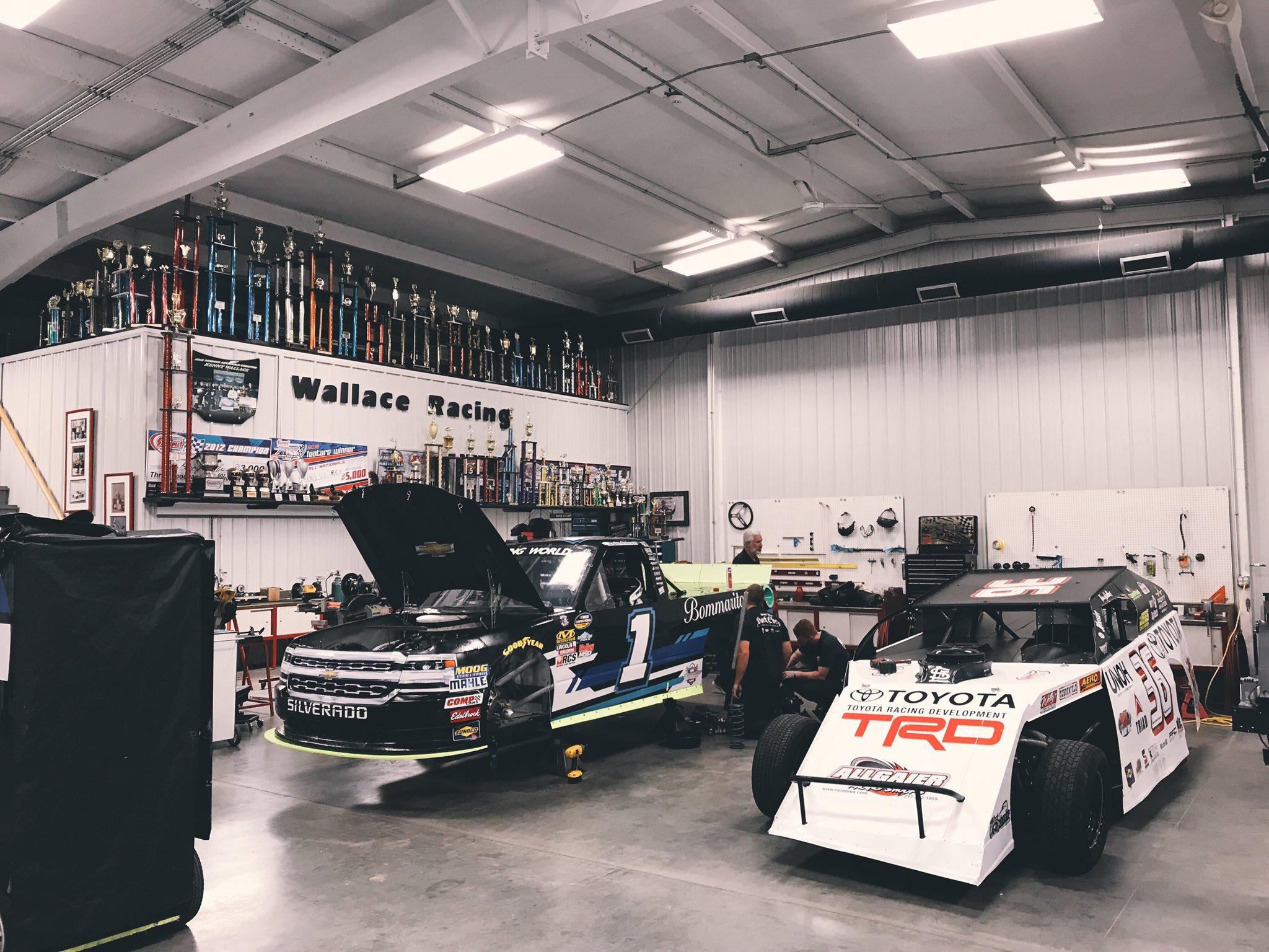 Kenny Wallace Racing Shop / NASCAR Shop - Racing News