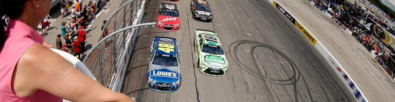 New Hampshire Motor Speedway Sponsor Signed